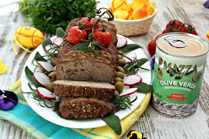 Drob de carne și măsline verzi - Gust și Aromă