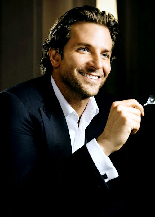 Bradley Cooper featuring in new ad campaign for UK luxury ice cream brand Häagen-Dazs, May 2013. great smile!