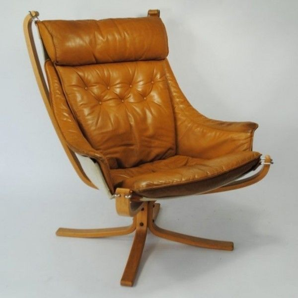 For sale through RetroStart: Falcon Lounge Chair from the sixties by Sigurd Ressell for Vatne Møbler   #46361