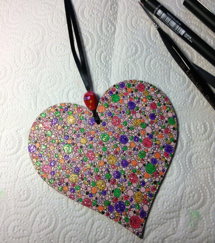 So many bubbles in a heart