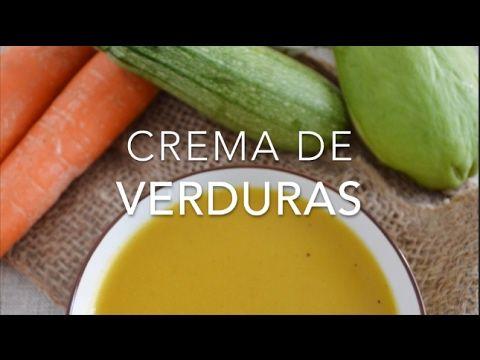 Cómo hacer crema de verduras (fácil, rendidora y deliciosa)