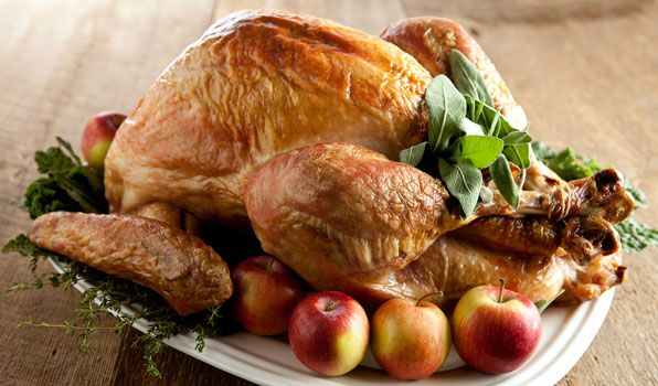Roast Turkey with Thyme and Rosemary