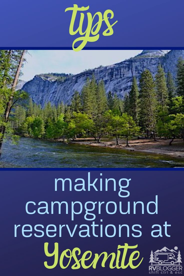 Best Rv Camping In And Near Yosemite With Images Yosemite Camping Yosemite Best Campgrounds
