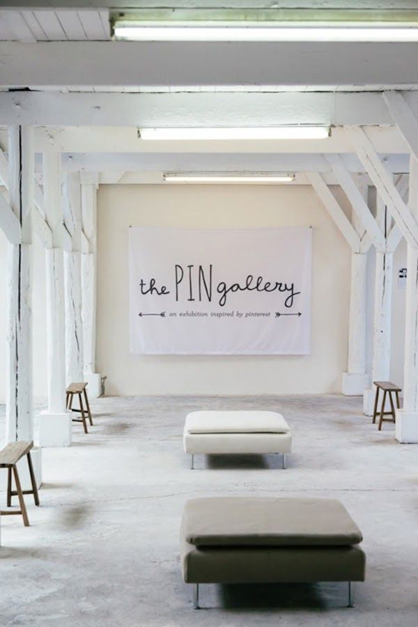 the pin gallery - a pop-up exhibition in Amsterdam inspired by Pinterest