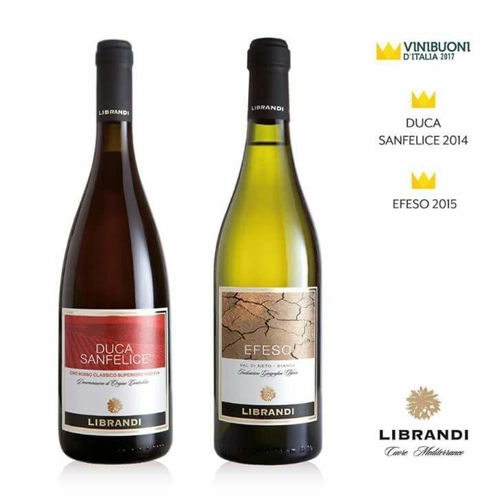 L'edizione 2017 della guida Vinibuoni d'Italia ha incoronato il Duca Sanfelice, annata '14, ed Efeso, annata '15 www.calagusto.com/prodotto/efeso-val-di-neto-bianco-igt/  #calabria #vinibuoni #italia #ciro #wines #drink #food #premi #followus