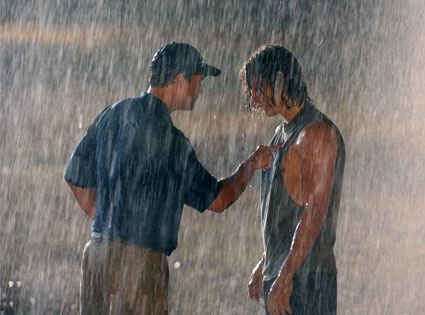 Him in that cutoff in the rain... | 26 Times That Tim Riggins Was Pure Perfection