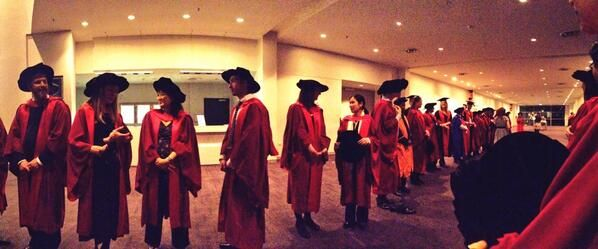 Thanks to Murdoch University Graduate Jim Caro for these images from the Murdoch graduation on the 12th September 2013