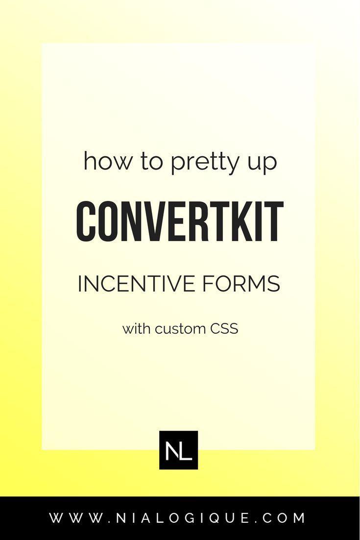 Usando o background image no css - How To Customize The Convertkit Incentive Form
