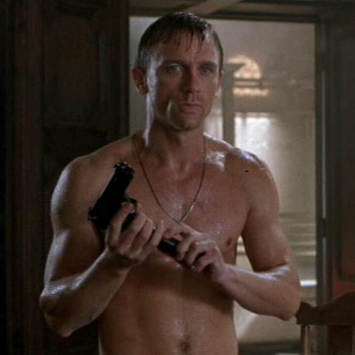 Daniel Craig - Tomb Raider - Let's be honest, this was my favorite part of that movie. Kind of prefer him in supporting roles, actually *shrug*