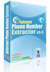 Internet Phone Number Extractor The cell number finder is extremely efficient in saving the extracted numbers in different file formats. The number extractor allows the users to save the numbers in .CSV format which opens in MS Excel and .TXT format which opens in Notepad.