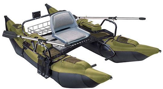 Pontoon Fishing Boats - Trout Unlimited Colorado XT Pontoon Boat