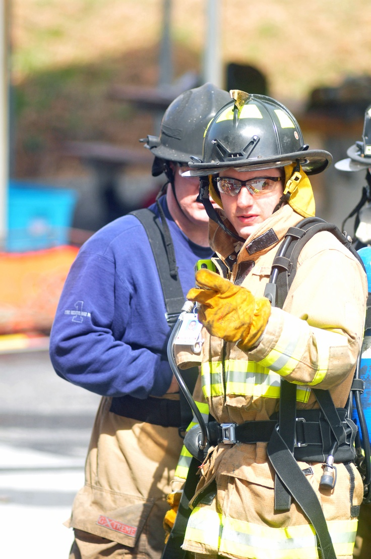IFA Company Four Firefighter Jack Haney on the training ground.