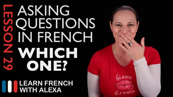 Asking WHICH ONE? questions in French with LEQUEL (French Essentials Les...