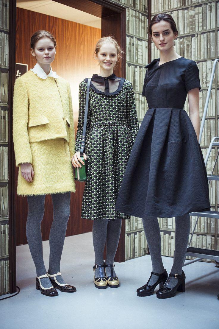 Orla Kiely Fashion Show der neuen Herbst/Winter Kollektion.
