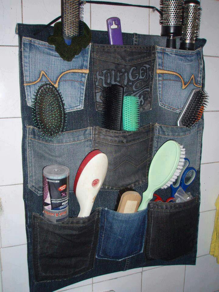 Use for old jean pockets
