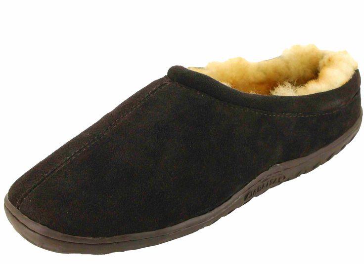 Ciabatta NL-03301-R Men's Sheepskin Slippers