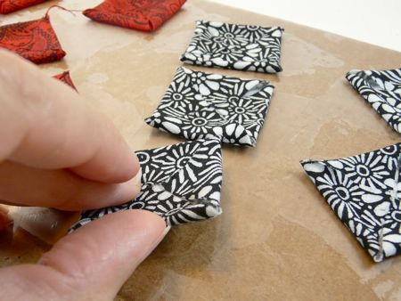How to Make Stiffened Fabric Jewelry « CraftyPod