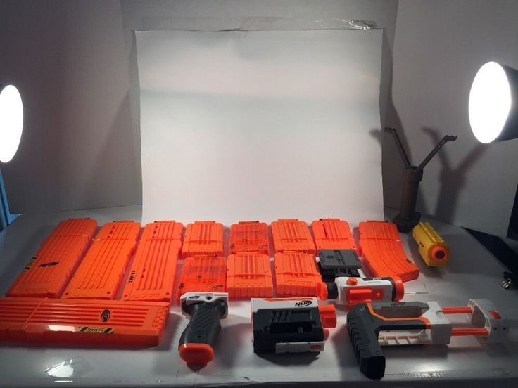 Nerf Gun Accessories 20 Piece Lot 18 Max Clip N Strike Nerf Scope | eBay
