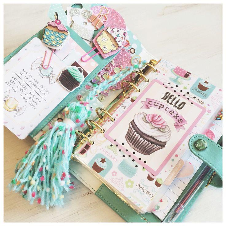 Planner Ideas & Accessories ❤ cupcake planner
