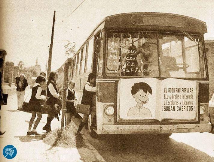 El Ciudadano Activemos la Memoria Transporte escolar gratuito en buses de la ETCE durante el Gobierno Popular, 1971