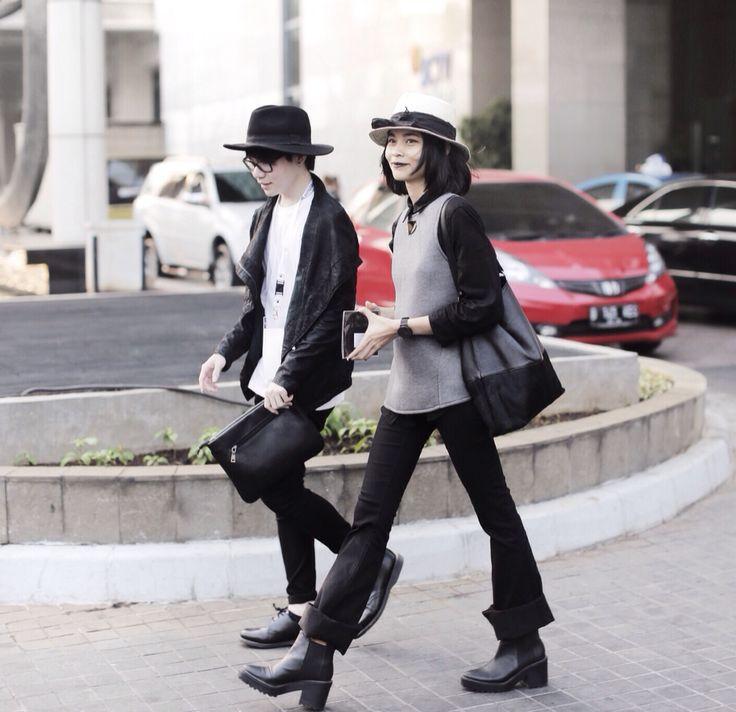 Street style. Jakarta fashion week 2016