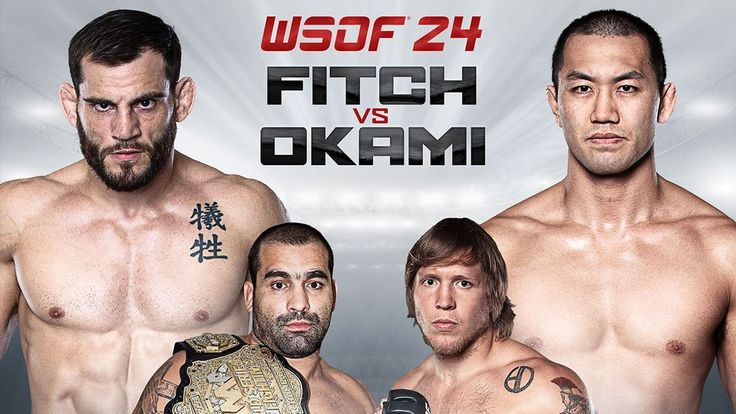 Live results and free streaming video for the entirety of tonight's WSOF 24 card, headlined by welterweights Jon Fitch vs. Yushin Okami.