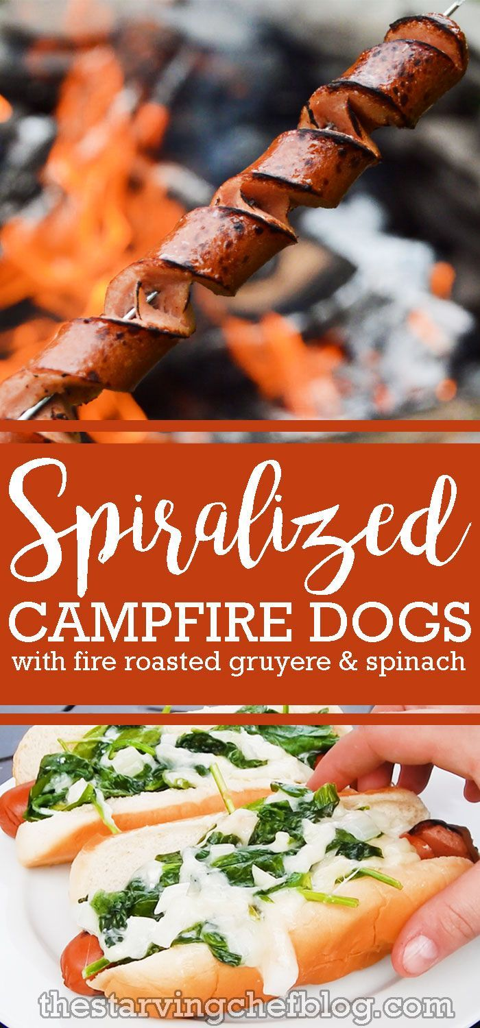 The Starving Chef   Spiralized hot dogs - perfect for evenly cooked weenies!