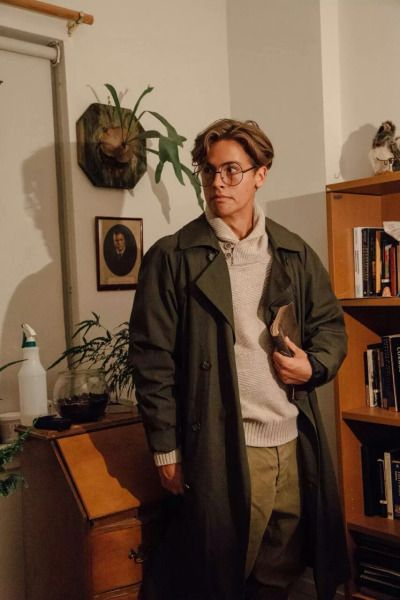 Cole Sprouse as Milo Thatch. What a guy. This is so hot