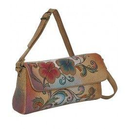 O alegere de nota 10 si un cadou pentru sotie de Sf. Maria de nota 10, o geanta plic din piele naturala, Anuschka