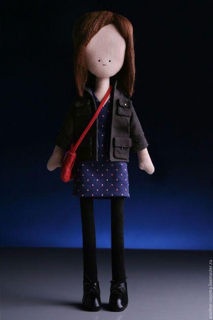 Коллекционные куклы ручной работы. Ярмарка Мастеров - ручная работа. Купить Клара Освальд из британского телесериала Доктор Кто. Handmade.