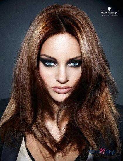 włosy kasztanowe z refleksami - Szukaj w Google