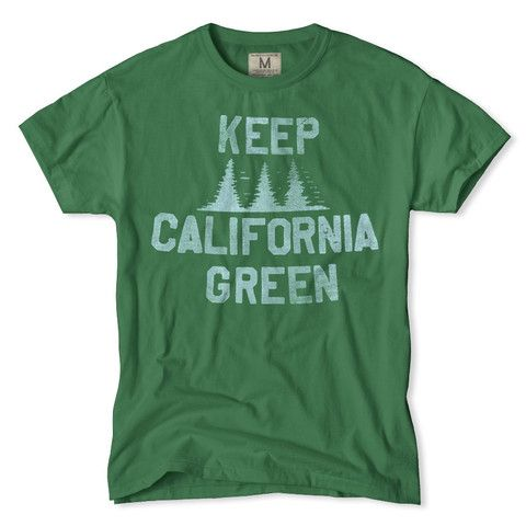 Keep California Green T-Shirt