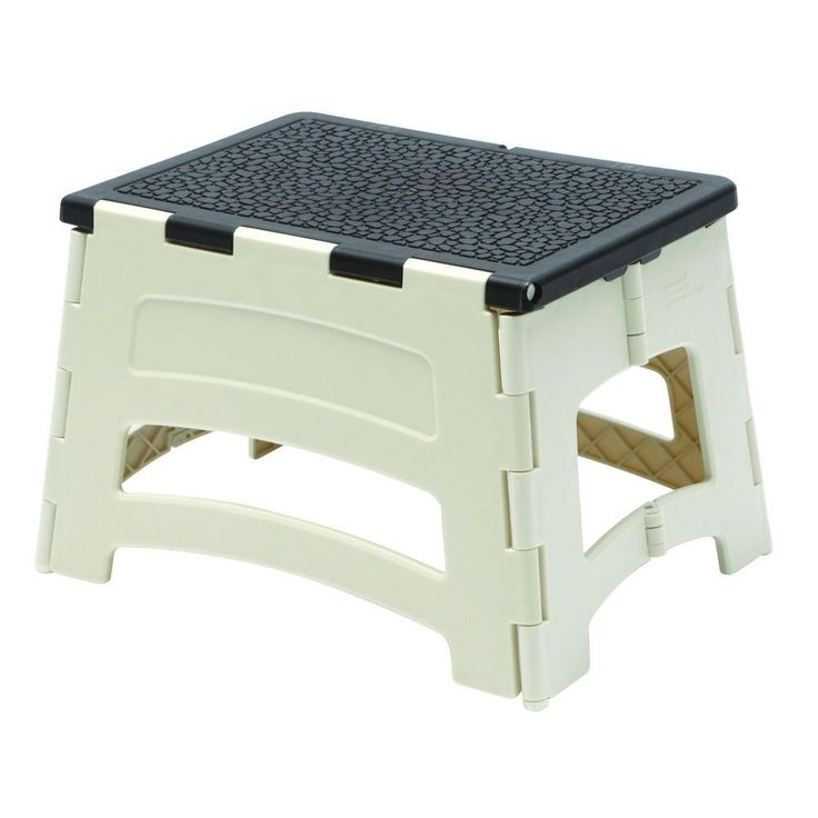 Easy Reach by Gorilla Ladders Plastic Stool with 300 lb. Load Capacity at The Home Depot - Mobile  sc 1 st  Pinterest & 73 best Pop up Camper remodel images on Pinterest | Happy campers ... islam-shia.org