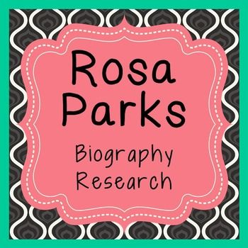 term paper on rosa parks Rosa park essaysrosa parks has been called the mother of the civil rights movement and one of the most important citizens of the 20th century mrs parks was a seamstress in montgomery.