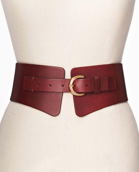 Leather Corset Stretch Belt | Ann Taylor