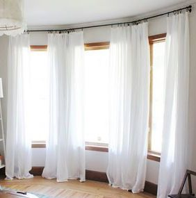 Best 25+ White Lined Curtains Ideas On Pinterest | Drapery Styles, White  Flat Curtains And White Linen Curtains