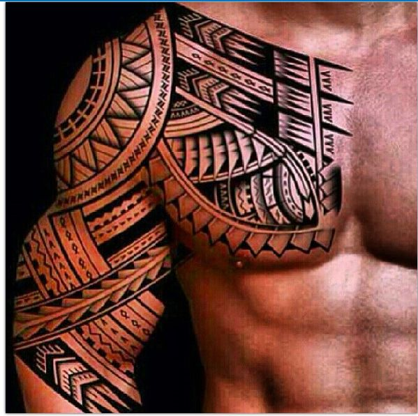 Chest-and-arm-are-the-most-popular-Polynesian-tattoo-designs.png 599×597 pixels