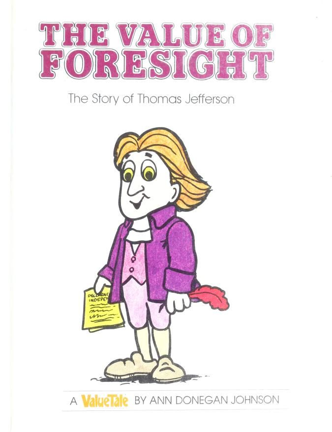 The value of foresight by Ann Donegan Johnson