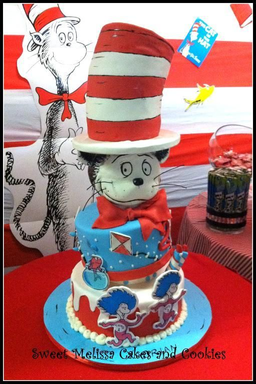 62 best Cat in the Hat Birthday Ideas images on Pinterest Dr suess