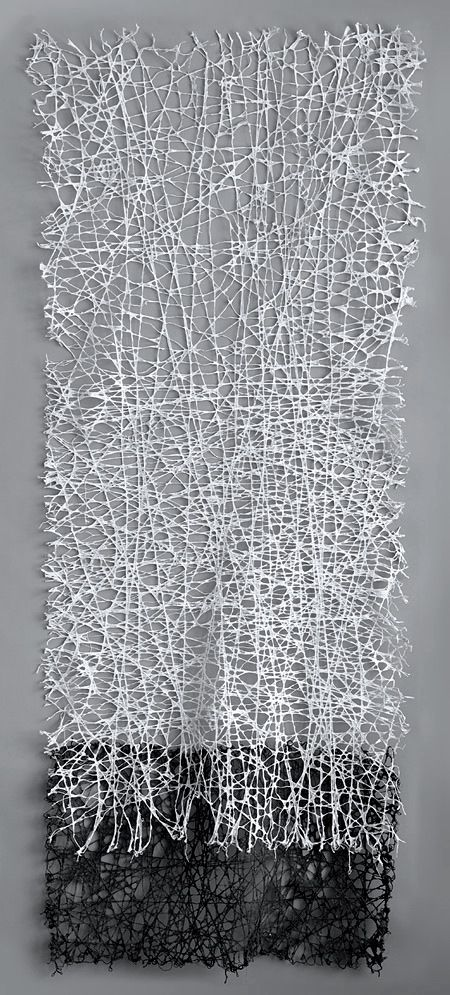Jennifer Davies | Vice Versa (1) | string + handmade paper