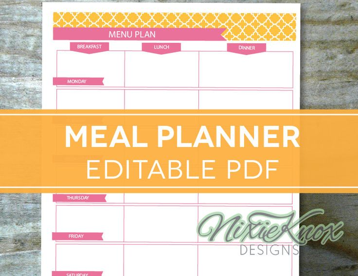 107 best Planejando as refeições images on Pinterest | Printable ...