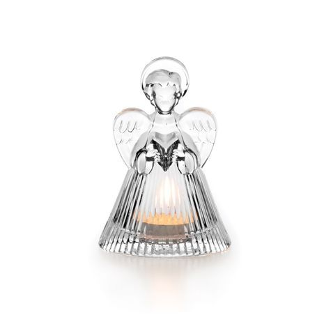 Crystal Angel Tealight Holder, ITEM #5114226
