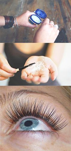 Women are just finding out about this routine for longer lashes.