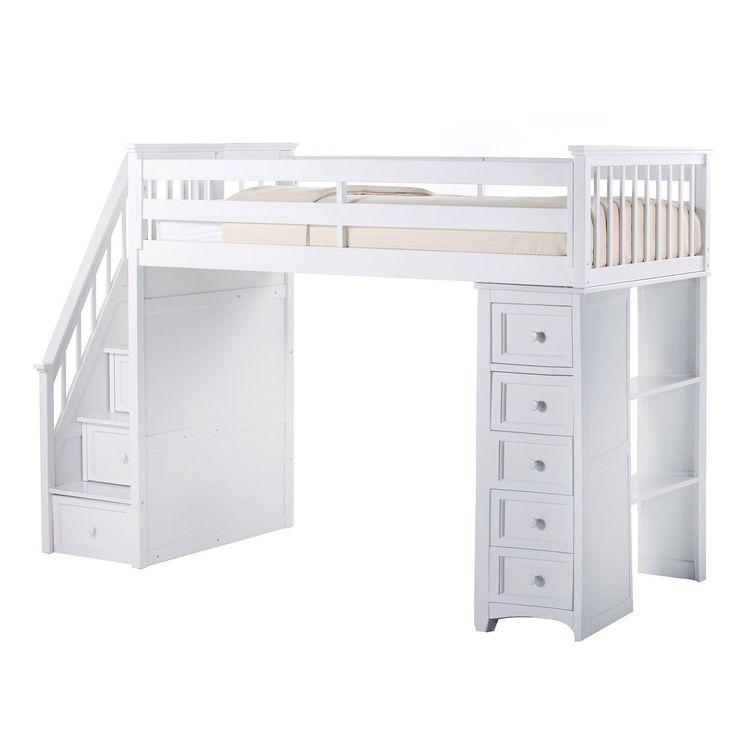 25 best full bed loft ideas on pinterest full bed for Case loft