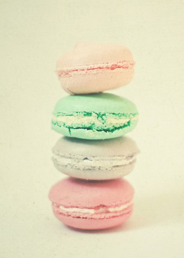 Four Macarons Poster Print By Cassia Beck Displate Macarons Pastel Candy 8x8 Print