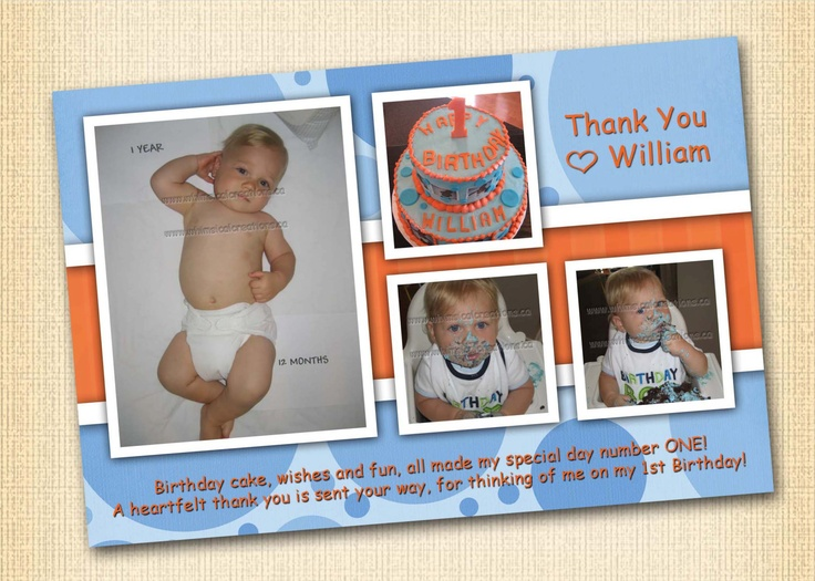 Boy's  Thank You Card (Digital File). $14.99, via Etsy.Cards Digital, Digital File, Thank You Cards