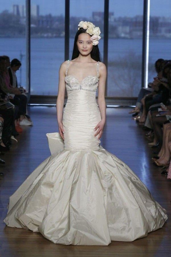 Robe de mariée 2015 avec une coupe sirène revisitée - Ines Di Santo