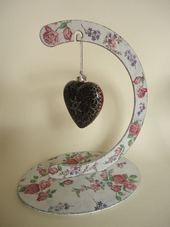 Christmas Decorations Handmade Wooden Stand and by VesArtAtelier