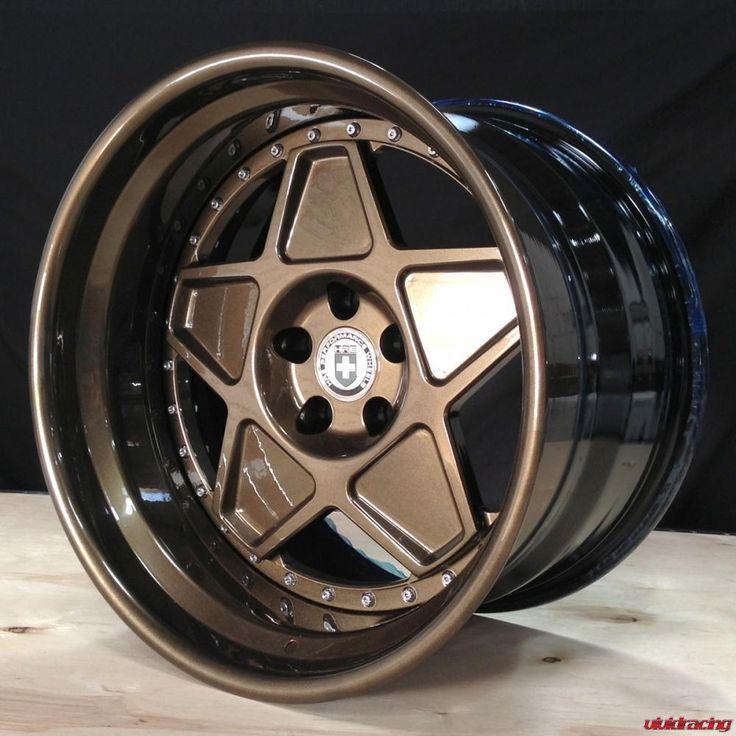 Vivid Racing News » So Vintage – HRE Wheels 505 in Full Bronze Armor