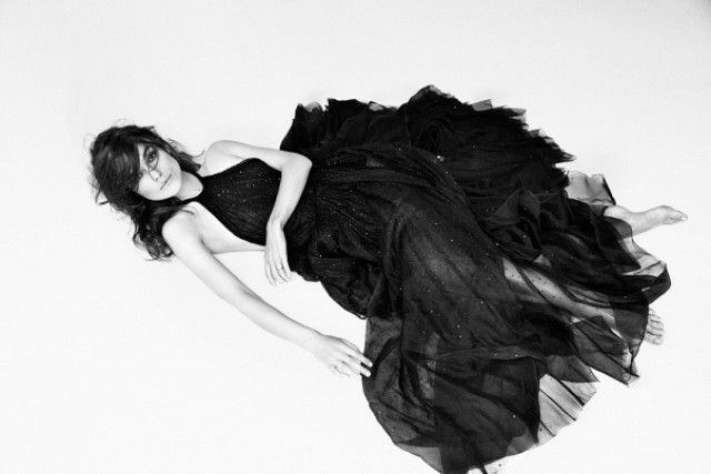Keira Knightley's Dark And Romantic Spread For Interview Magazine via @WhoWhatWear